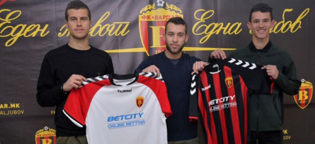 Vardar with three new reinforcements