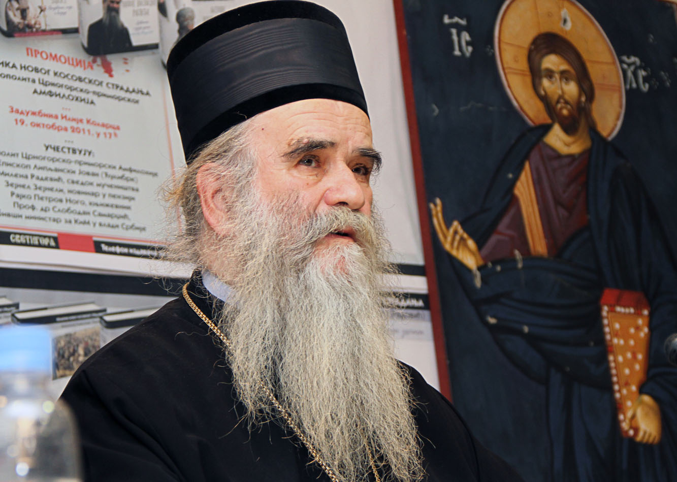 Vucic and his associates at odds with Orthodox bishop