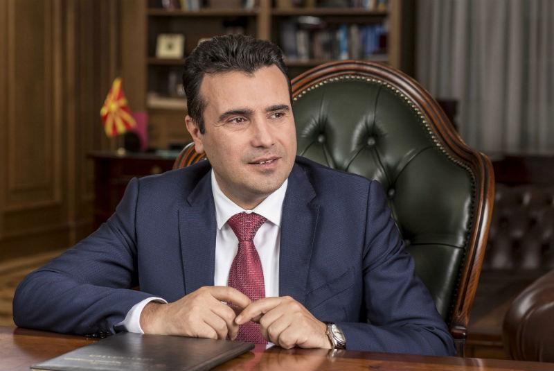 Zaev: Λύση του ζητήματος της ονομασίας το πρώτο εξάμηνο του 2018