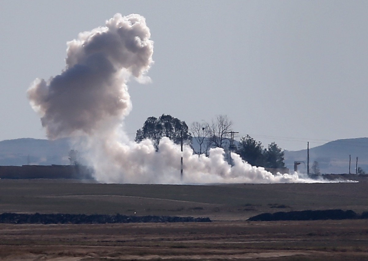 SE Turkey hit by shells from Syria – Turkish troops fired back