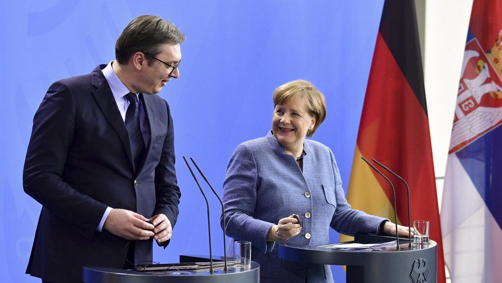 German diplomatic offensive in the Balkans