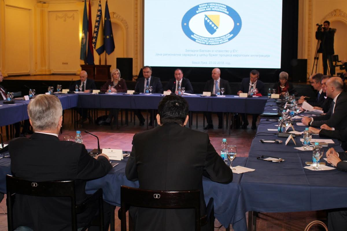 Sharp reaction of BiH Ministry to Albanian and fYROMacedonian decision