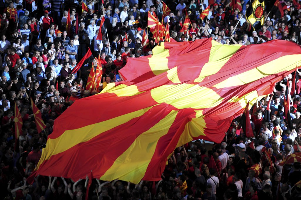 fYROMacedonia-Name issue: Right-wing, diaspora organise Skopje protest