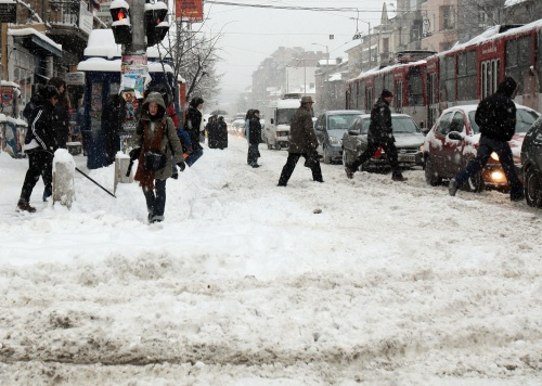 Freezing temps across Bulgaria, Sofia's paid parking system disrupted