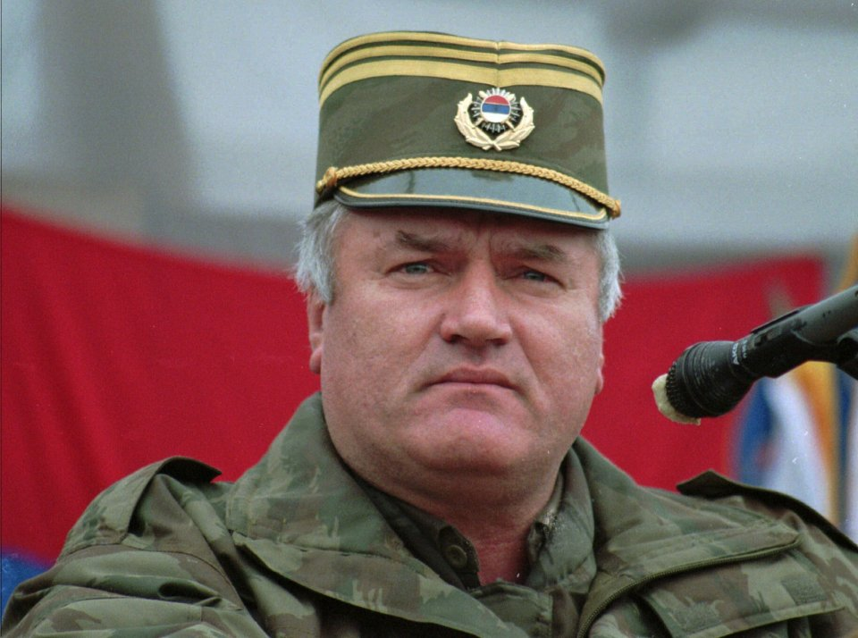 A Serbian municipality in BiH and the posters of Mladic