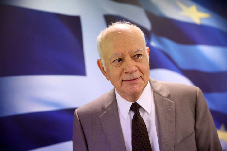 Greek FinMin Dimitris Papadimitriou quits