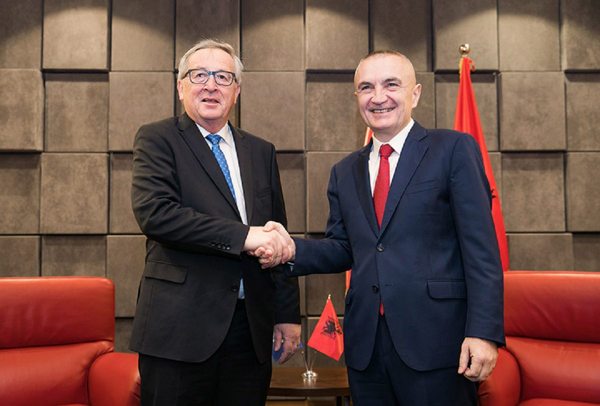President Meta receives the head of the European Commission