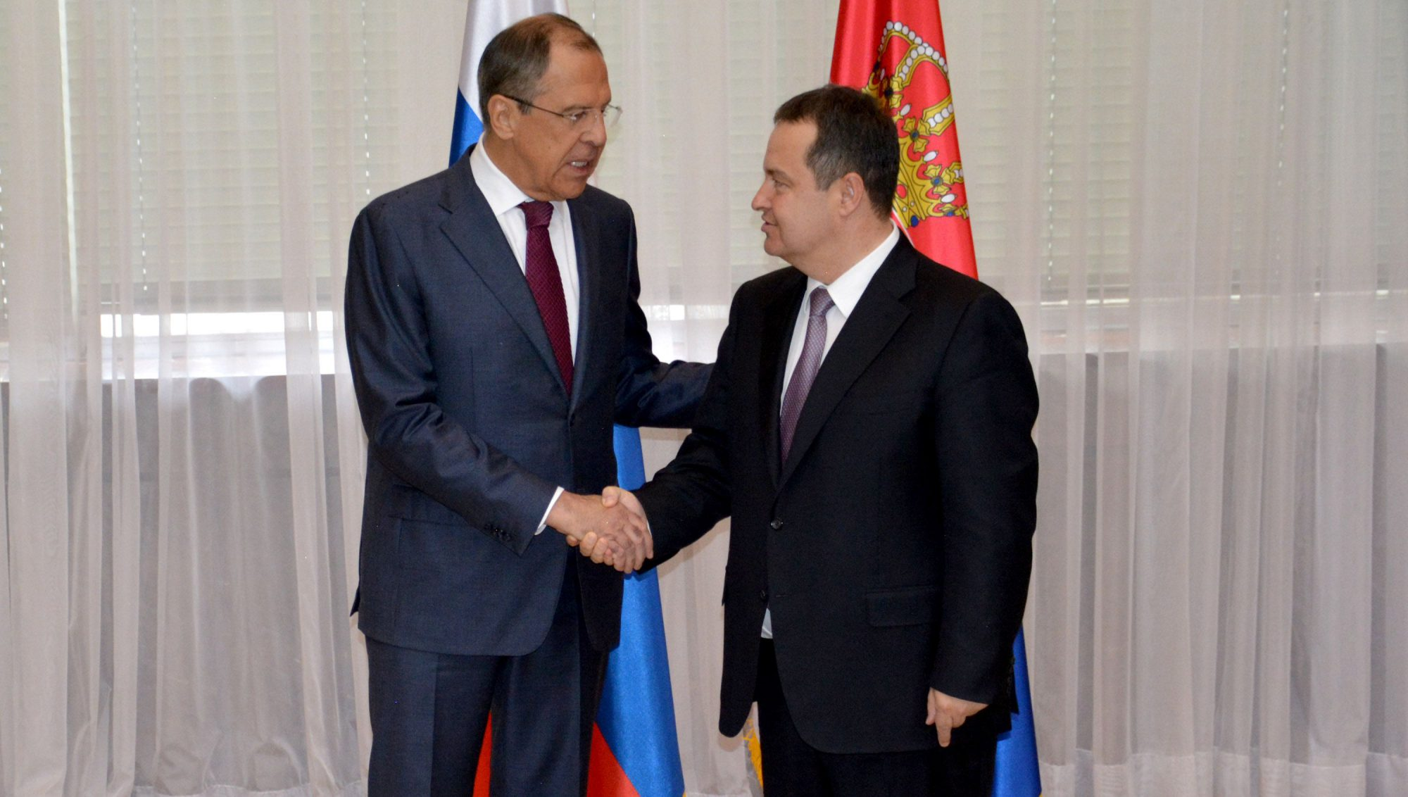 Dacic replies to Thaci after his meeting with Lavrov