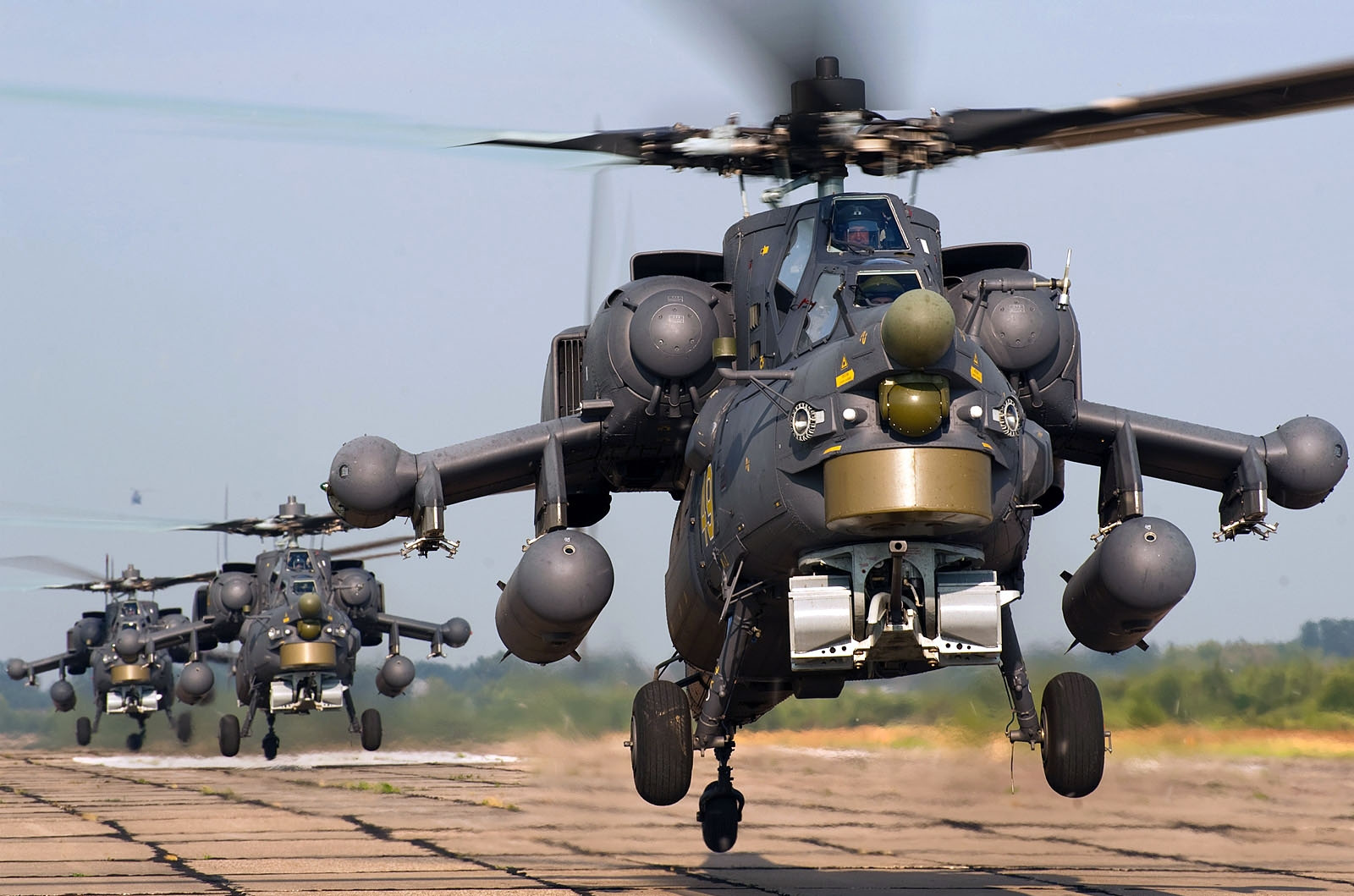 Serbia interested in buying Russian attack helis