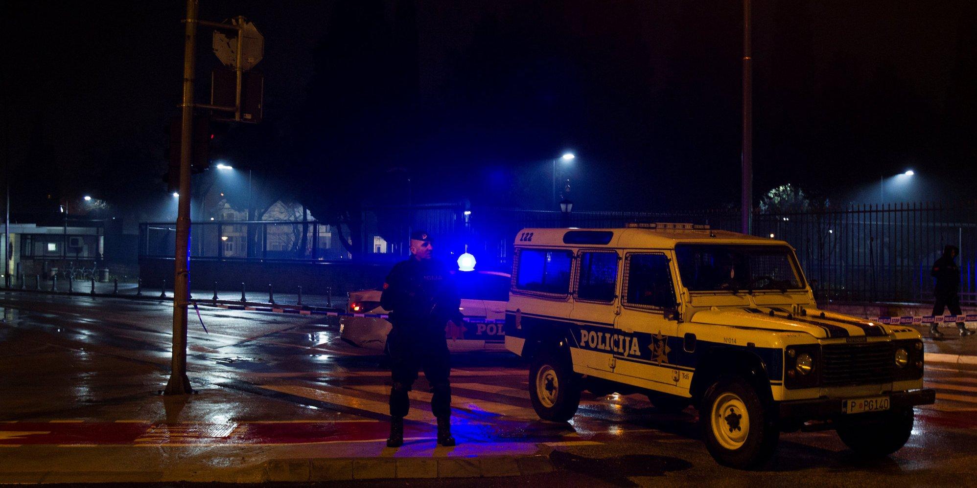 U.S. embassy in Podgorica attacked by grenade