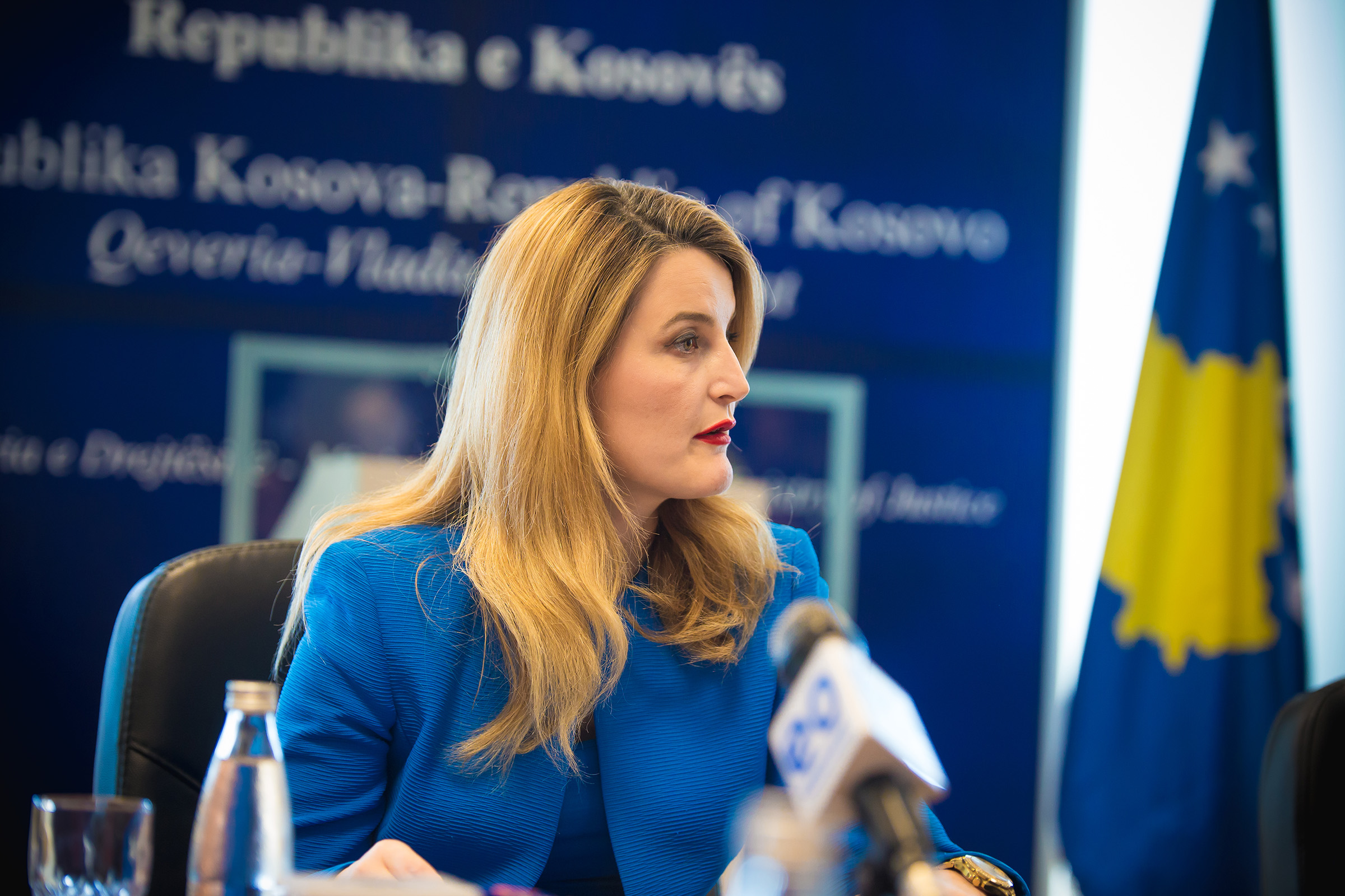 Kosovo's minister of Integration gives hope for the visa liberalisation to take place in June