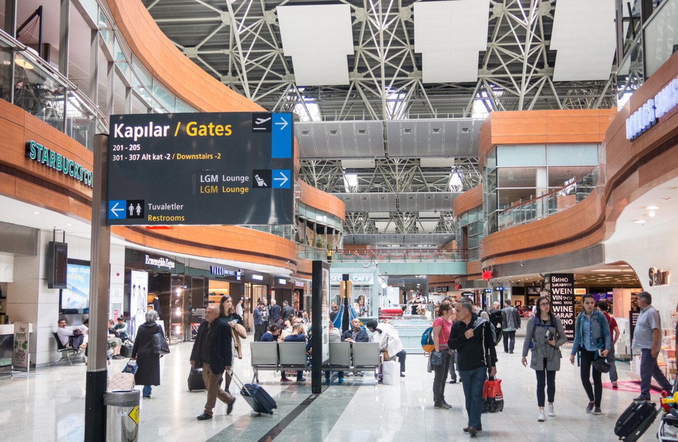 Turkish security officials at airports are tackling terror suspects with success