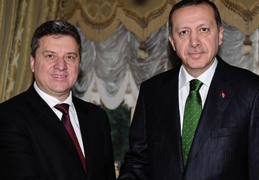 Ivanov's meeting with Erdogan in Ankara