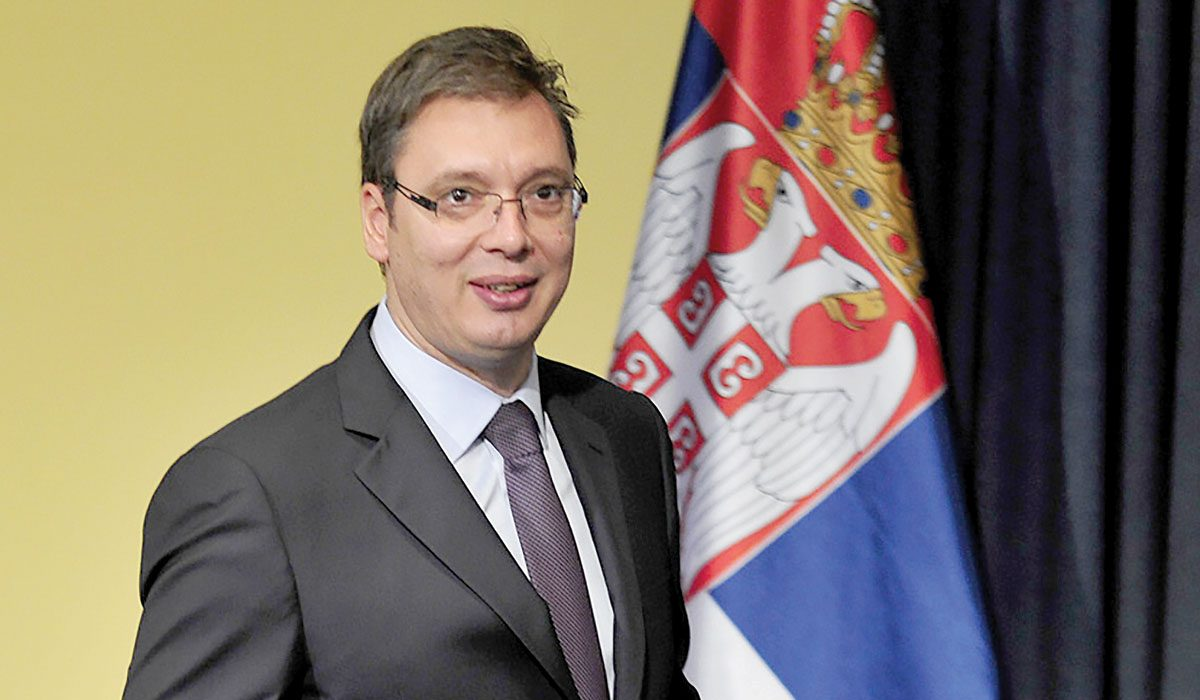 Vucic announces better days for Croats in Serbia