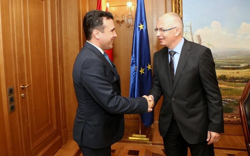 Zaev-Markus: Slovakia supports fYRO Macedonia's EU, NATO integration