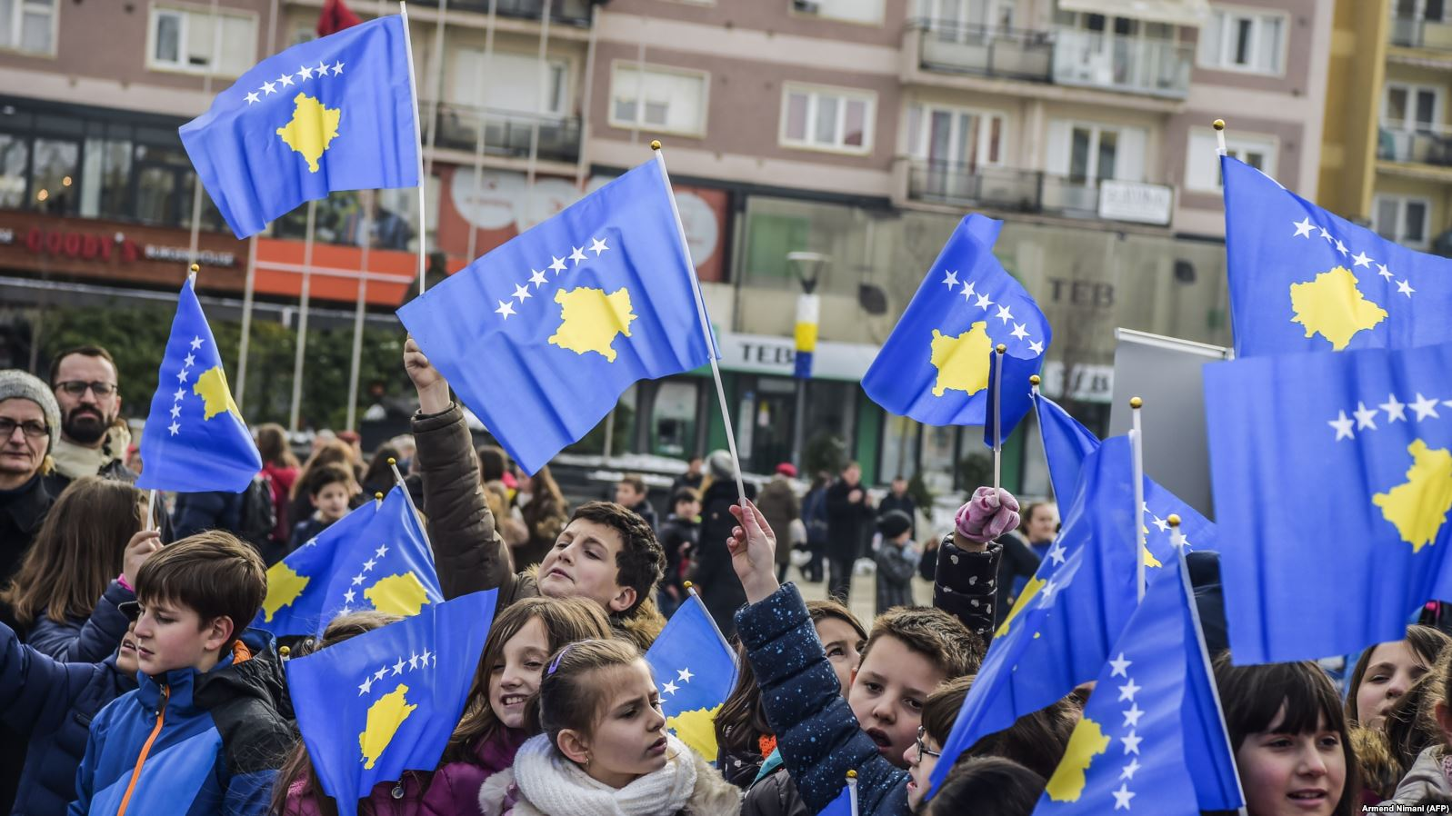 Celebrations take place in Kosovo  on the occasion of the country's 10th anniversary of independence