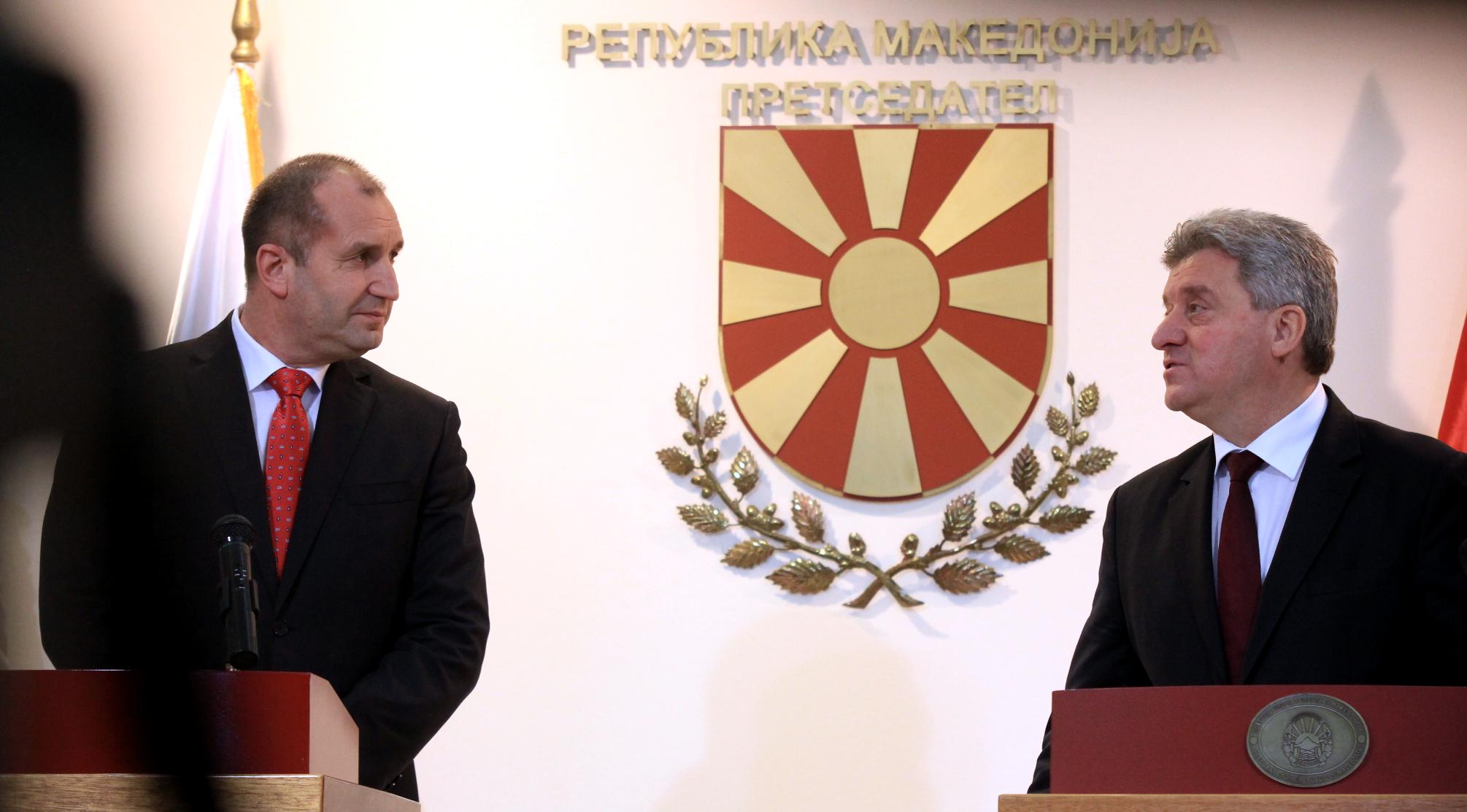 FYROM: Bulgarian President Radev comments the issue of name dispute