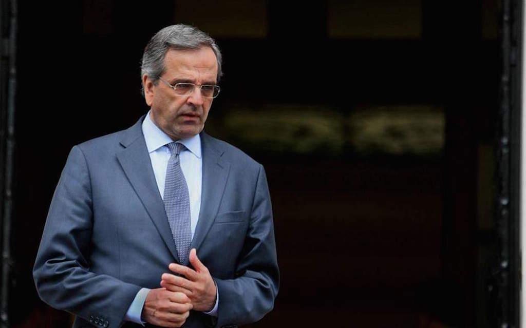 Former PM Samaras sues premier Tsipras over Novartis case
