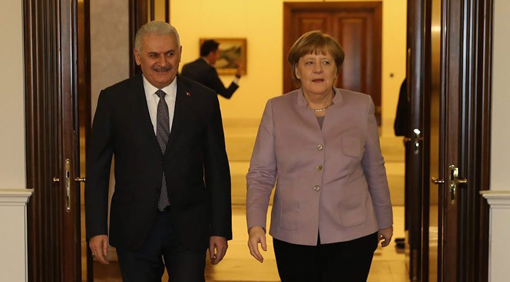 Merkel – Yildirim to discuss bilateral issues and terrorism