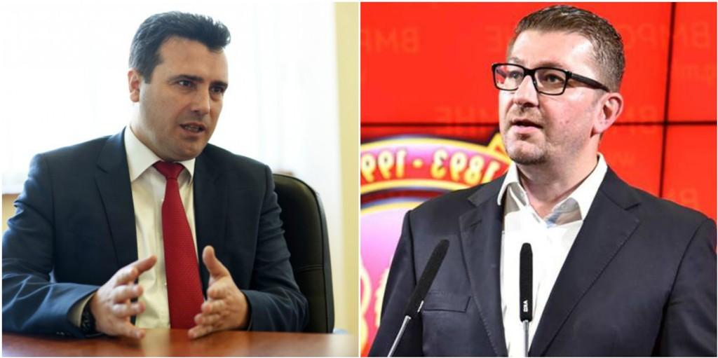 Mickoski and Zaev debate on social networks