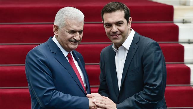 Tsipras – Yildirim's phone contact
