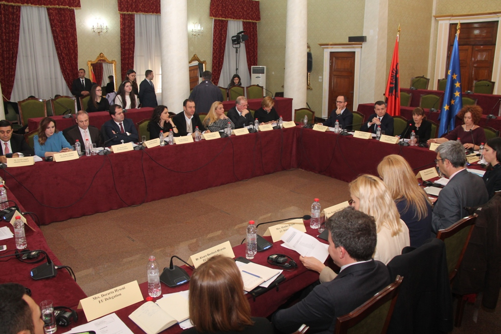 Albania holds the 12th meeting of Stabilization and Association