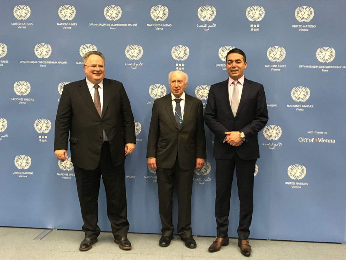 FMs Dimitrov and Kotzias agree for name dispute settlement process to resume under UN auspices