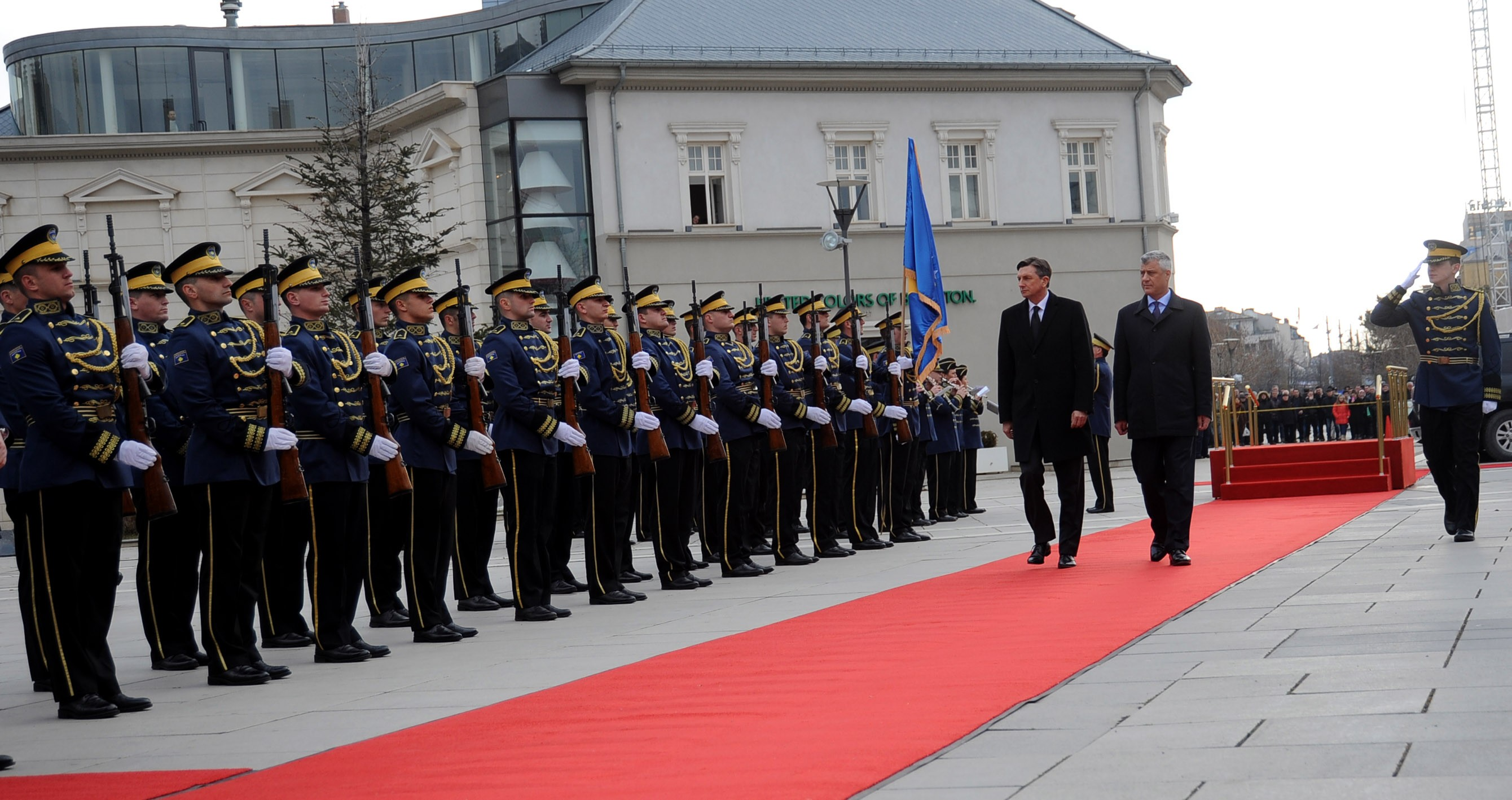 Pahor in Kosovo: It's time to leave the region's past behind