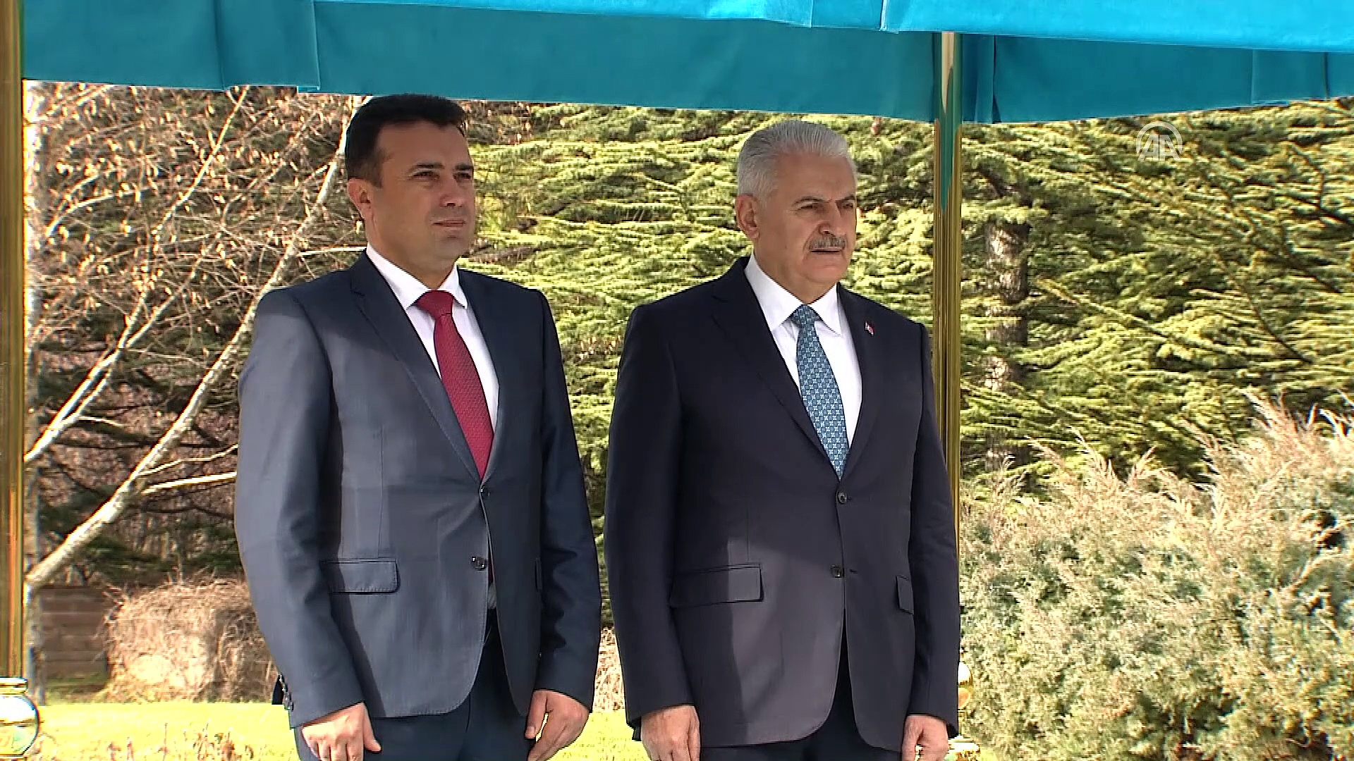 Binali Yildirim – Zoran Zaev, the meeting