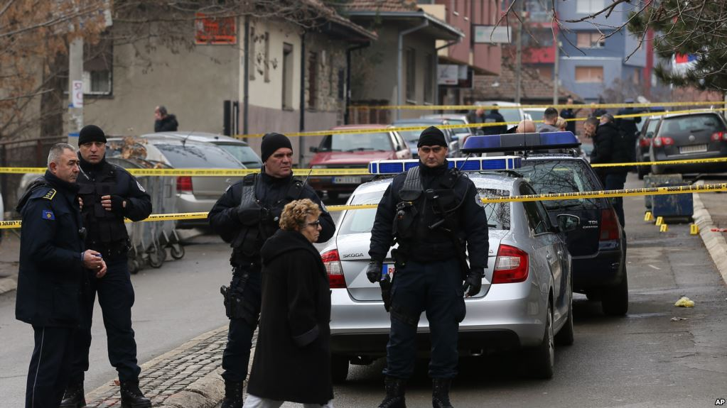 Two policemen arrested in Kosovo in relation to the murder of the Serb politician