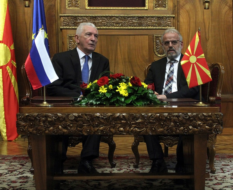 Speaker Xhaferi meets Russian Ambassador to fYRO Macedonia Shcherbak