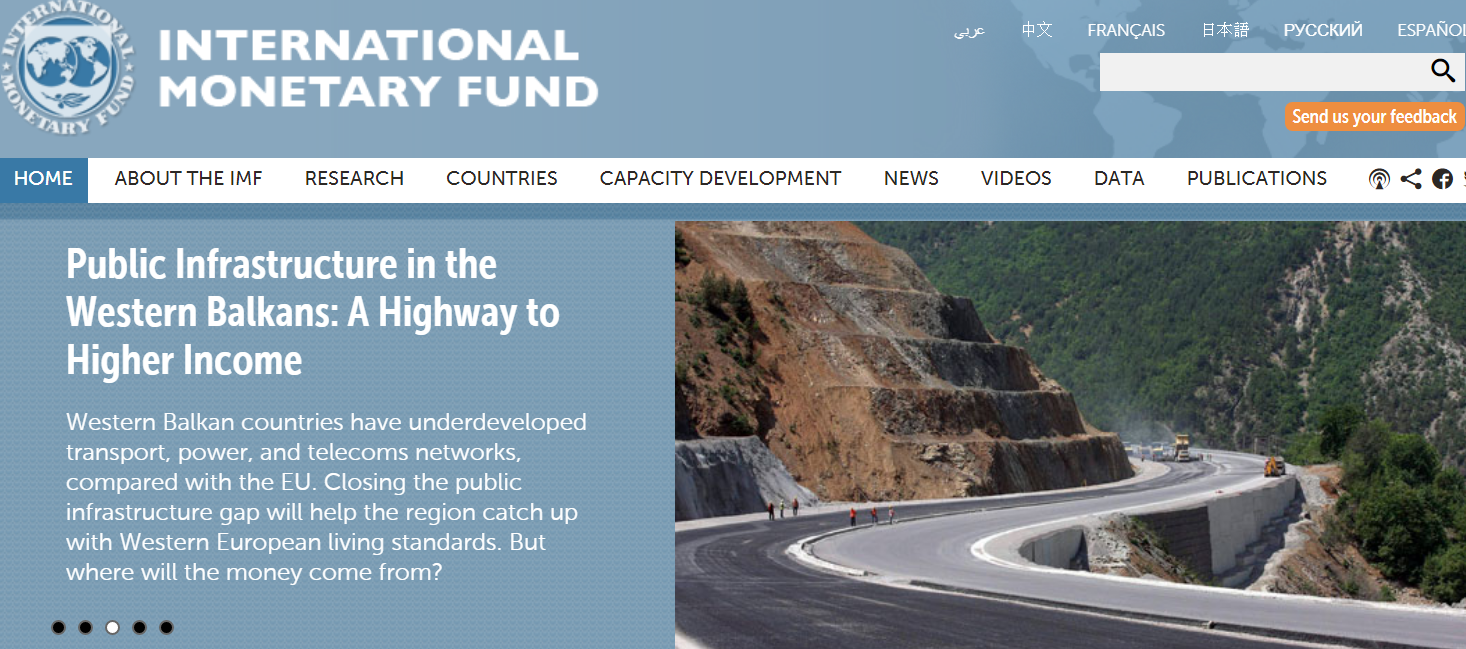 IMF against public-private partnership in building roads