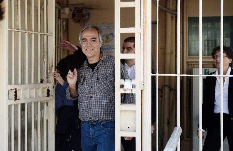 November 17 jailed member, Koufontinas, gets second furlough