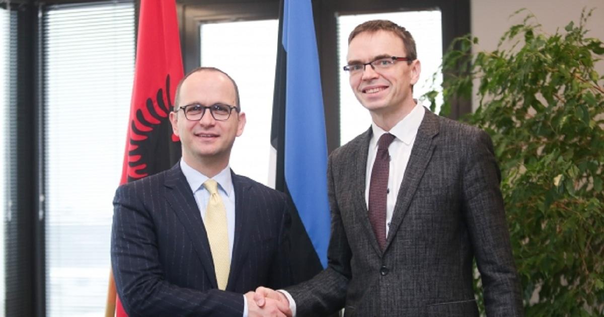 Estonia backs Albania's accession talks