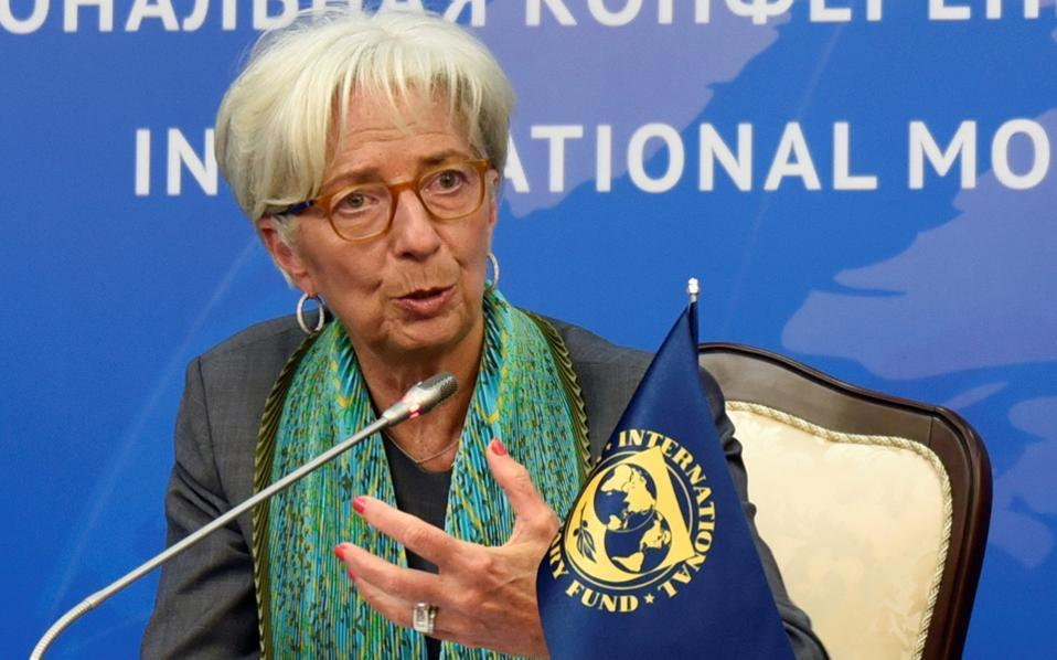 Greece's lower primary surplus demands boosted by Lagarde statement