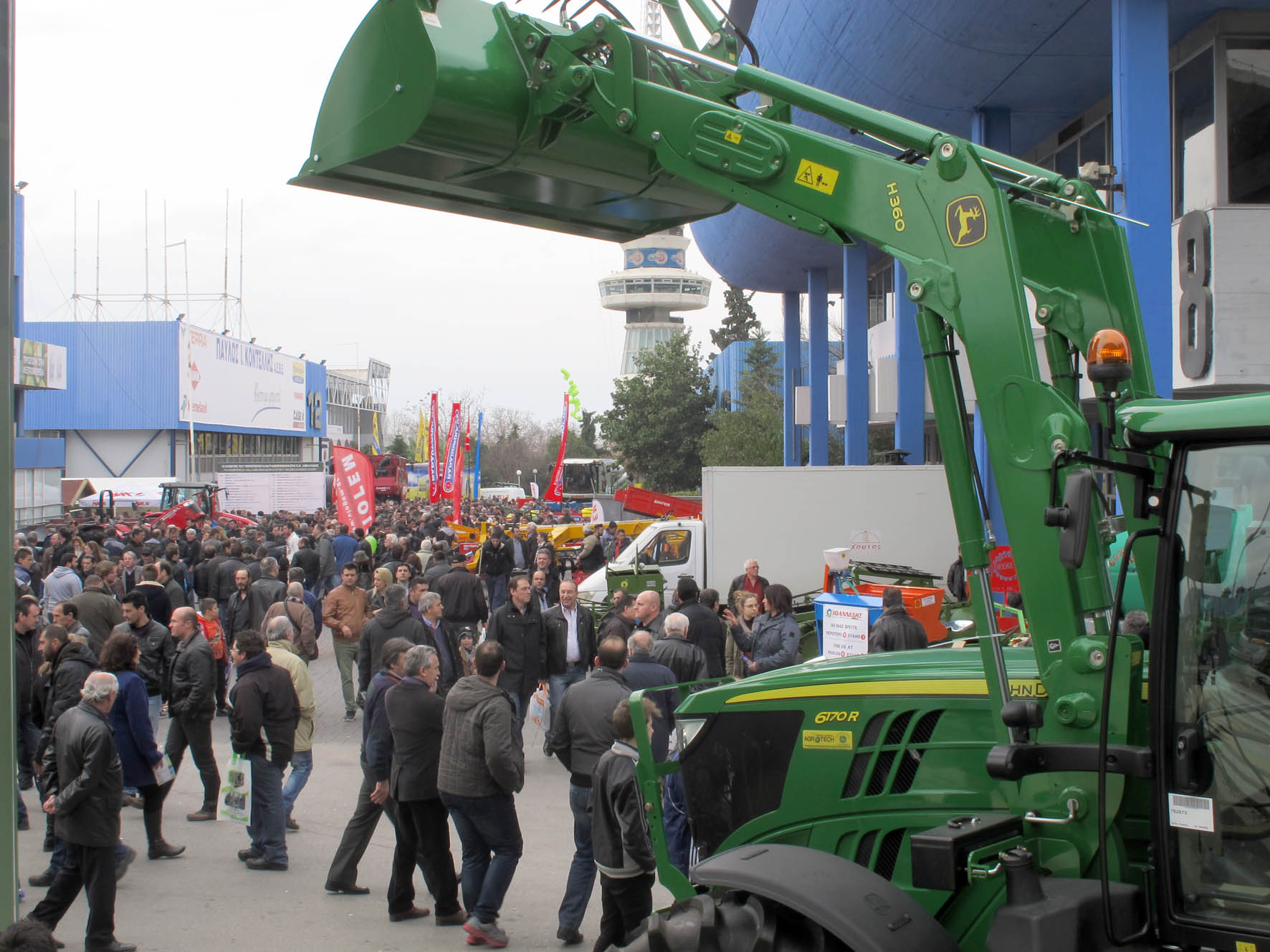 "The success of the 27th Agrotica and the 50mln it ""gave"" to Thessaloniki"