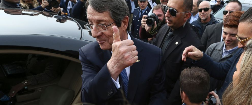 Nicos Anastasiades gets re-elected