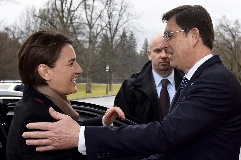 """Excellent relations"" between Serbia and Slovenia"