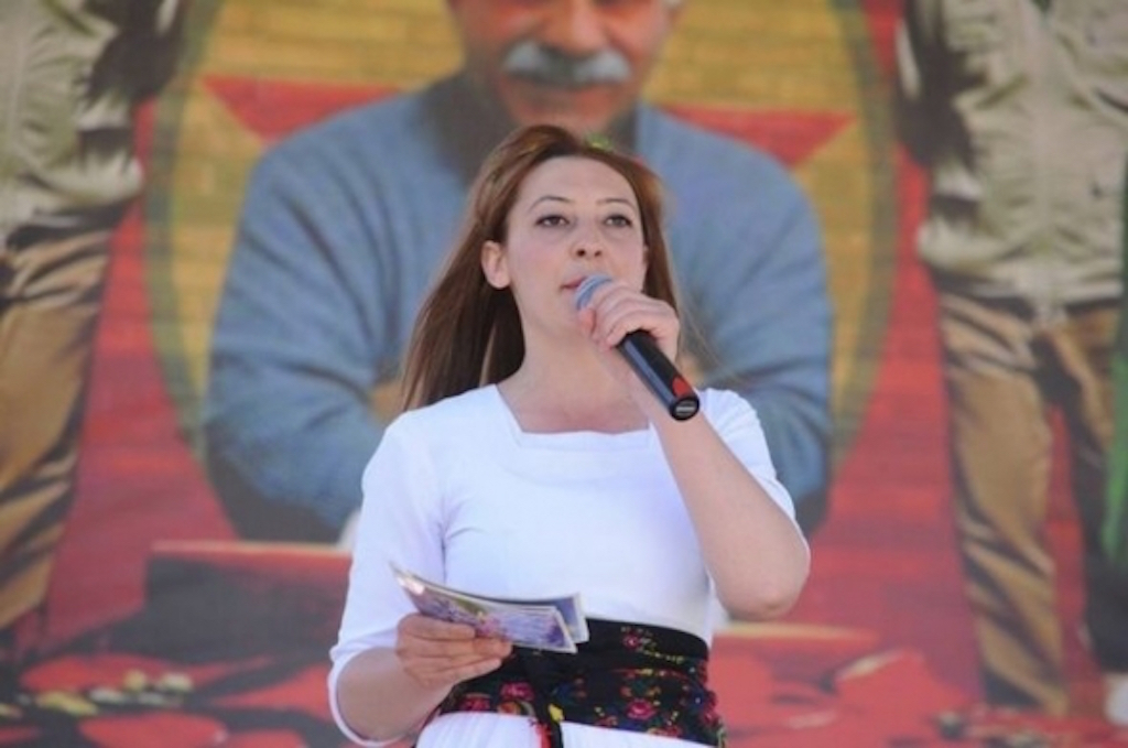 Leyla Imret: Wanted in Turkey, speaking at the European Council