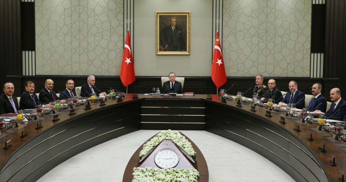 Extraordinary meeting of the Turkish National Security Council under Erdogan