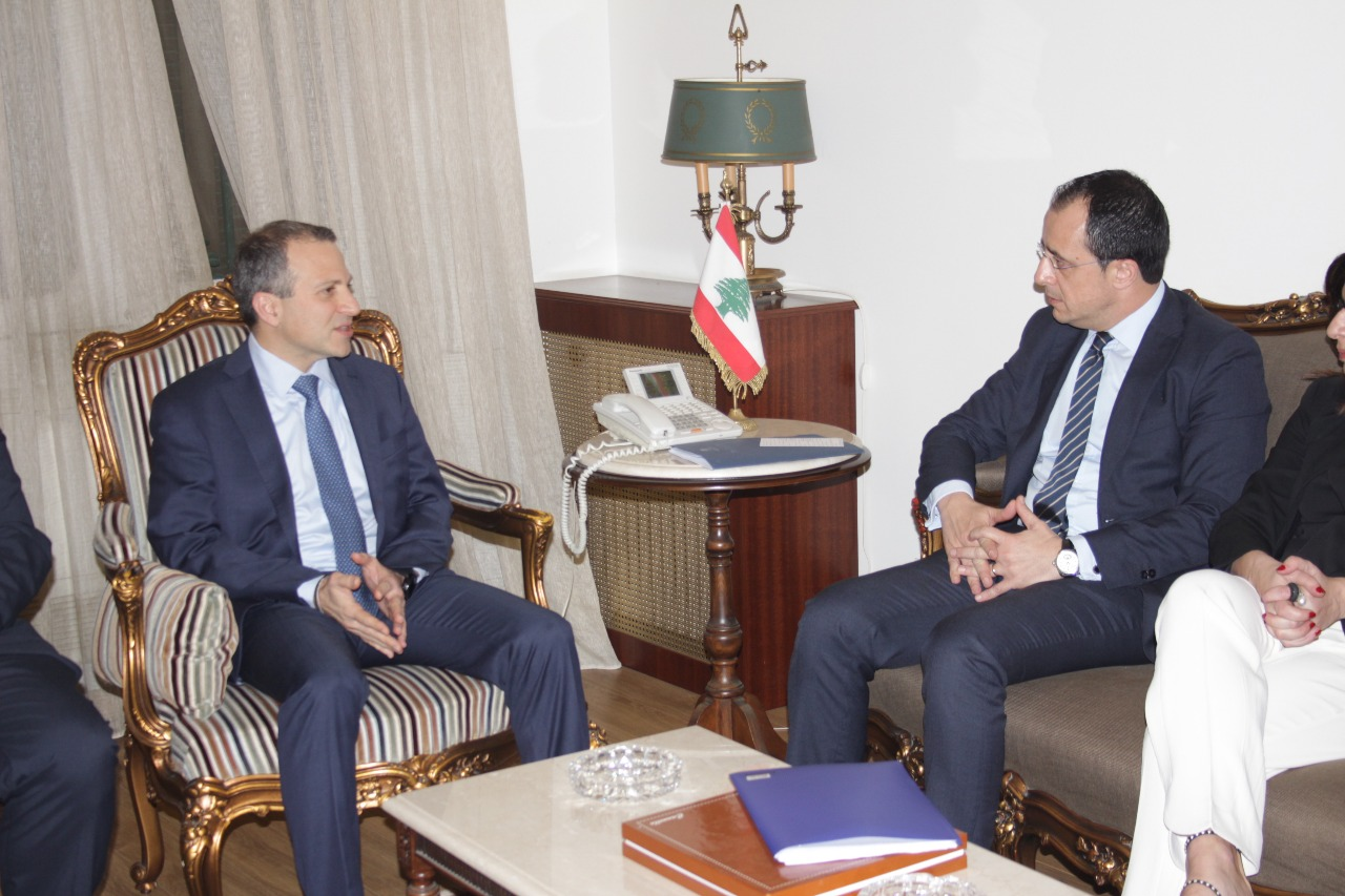 Christoudoulides concludes official visit in Lebanon