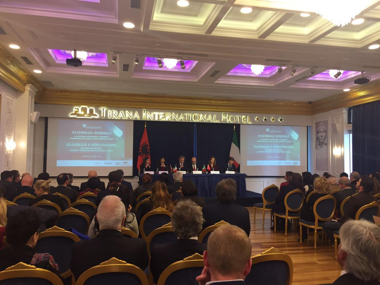 Italian industrialists in Albania: Reform in justice will help the business sector