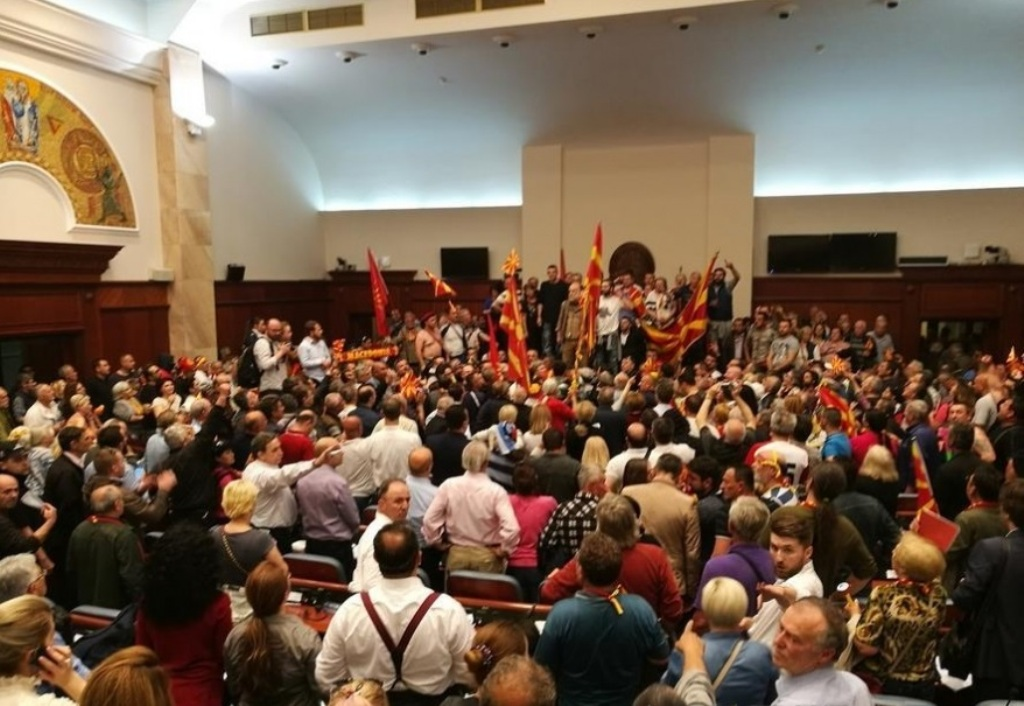 30 people indicted in FYROM on the violent events taken place in Parliament