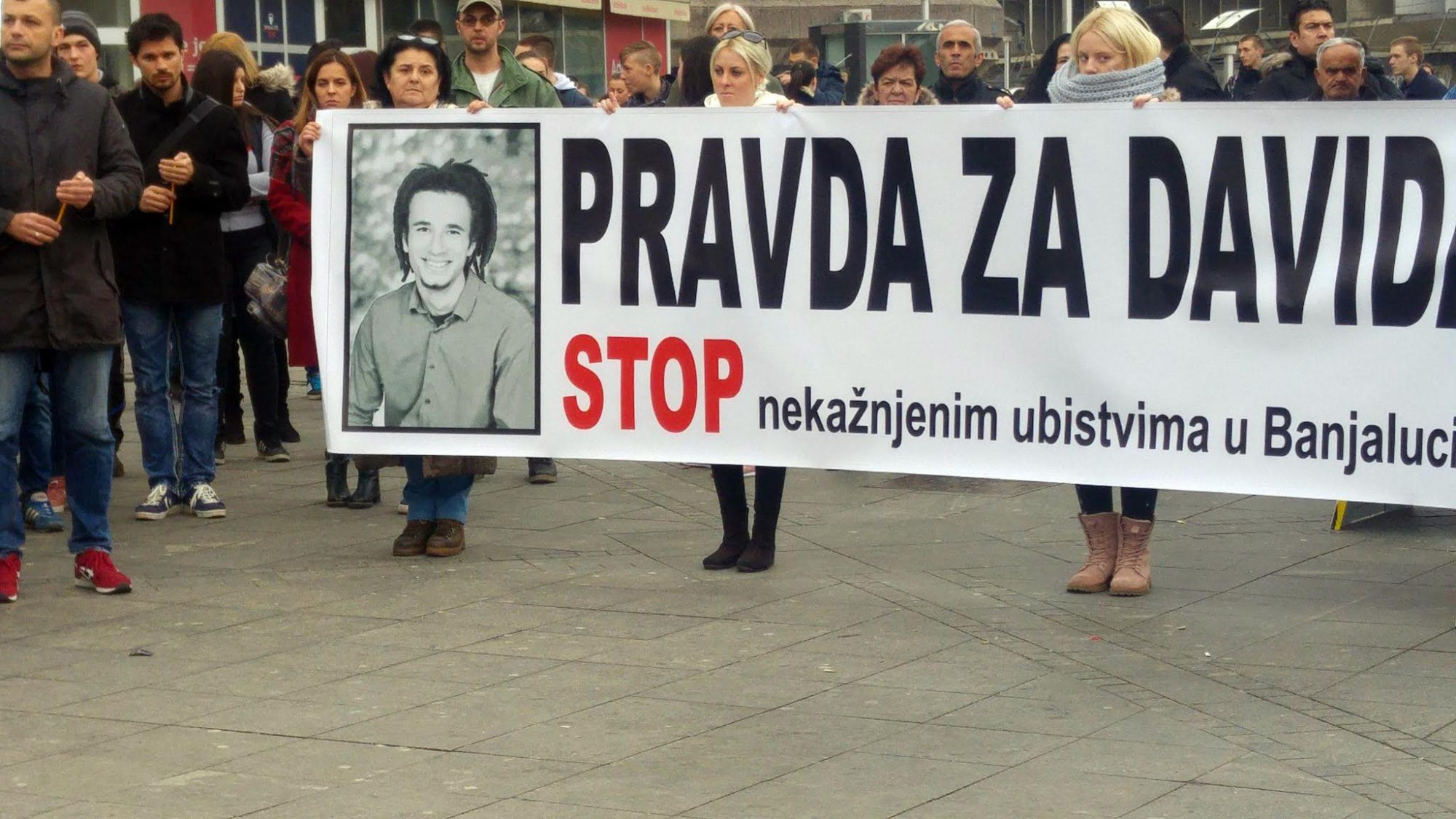 The suspicious death of a young man triggered protests in Banja Luka