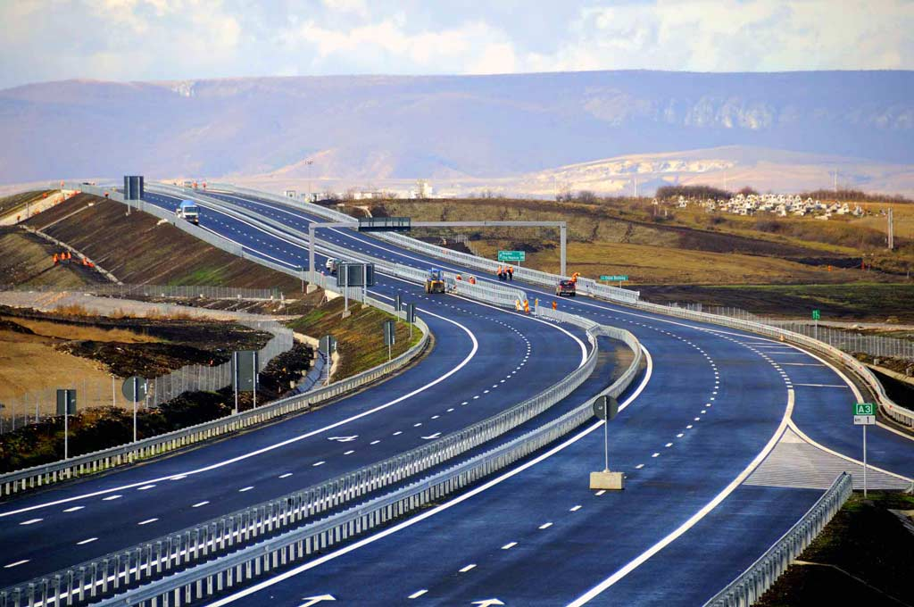 Toll charges apply for the first time on a national road in Albania