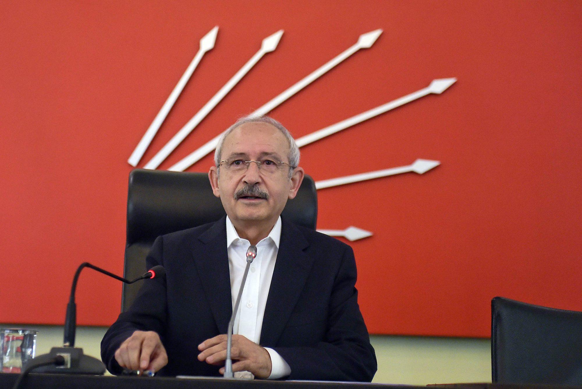 Turkish opposition head puts blame on energy lobbies