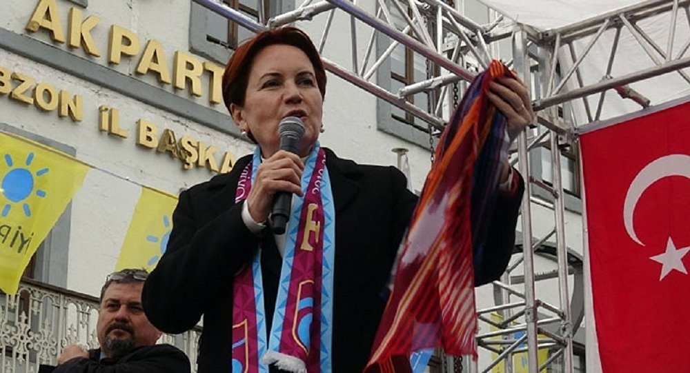 Meral Akşener speaks of early polls in Turkey, from Trabzon