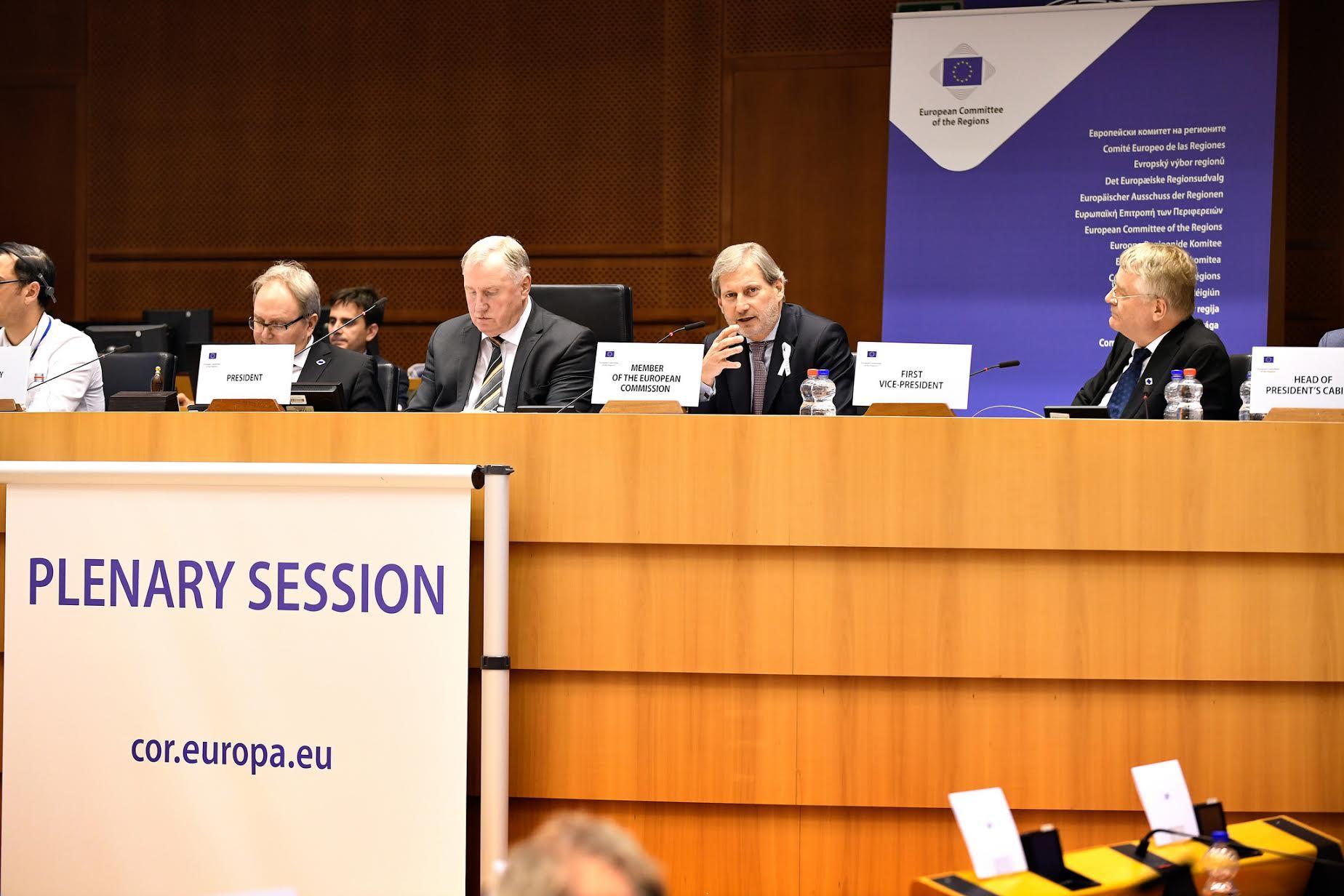 CoR: Small butpositiveedge for Western Balkans