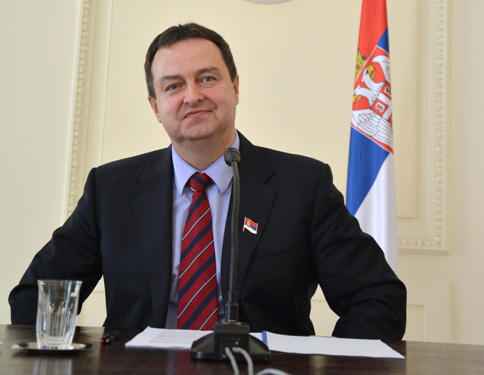 Serbian FM Dacic proposes to host Putin-Trump meeting