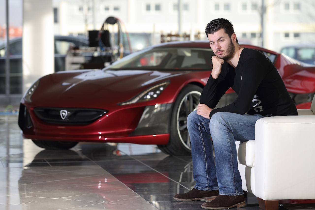 The Ernst & Young Entrepreneur of the Year Award for 2017 goes to Croat Mate Rimac